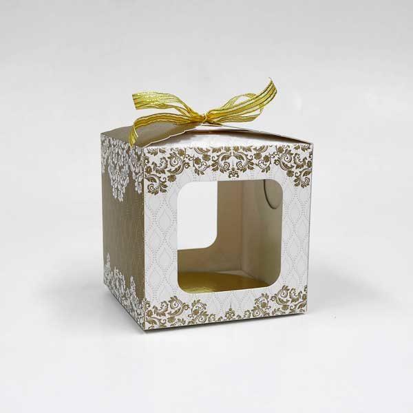 4 X 4 X 4 Cake Gift Box