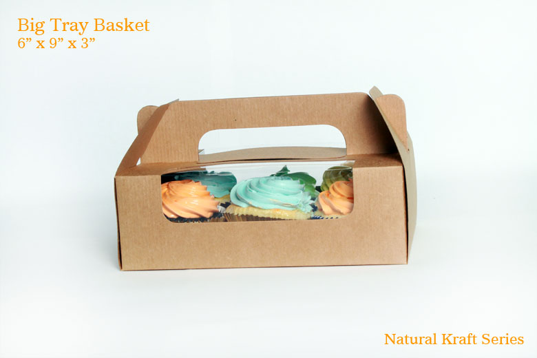 Big Tray Basket - Natural Kraft