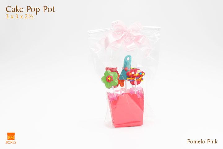 Cake Pop Pot - Pink