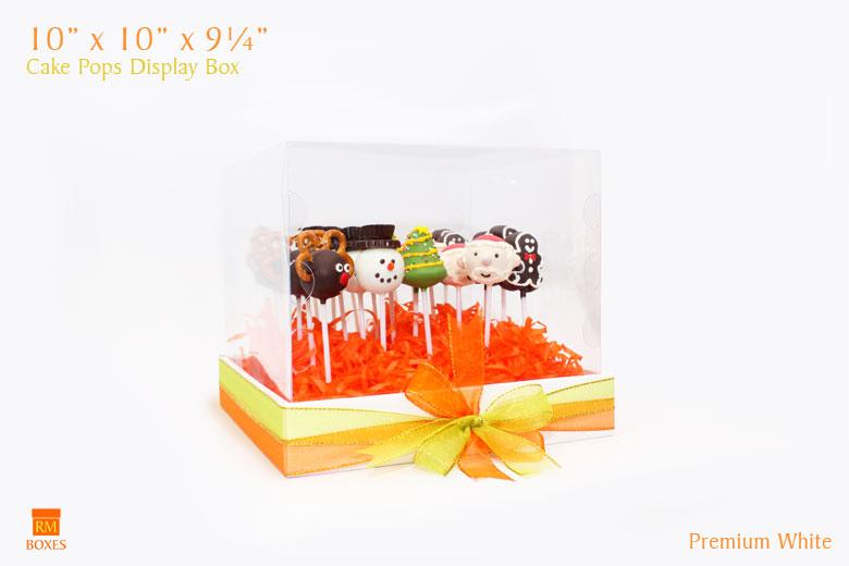 Cake Pops Display Box