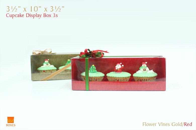 Cupcake display Box 3s