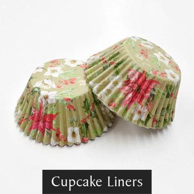 Christmas Cupcake Liners