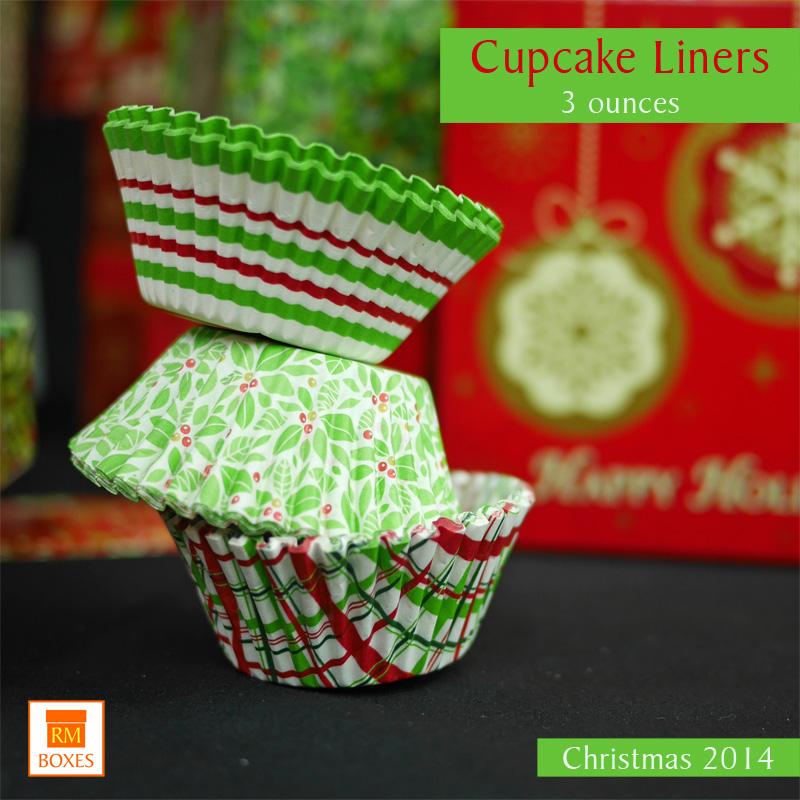 Cupcake Liners Xmas 2014