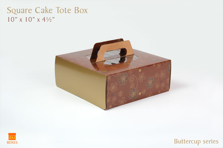 10 x 10 x 4 Tote - Buttercup