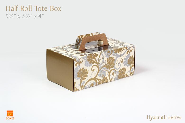 Half Roll Tote - Hyacinth