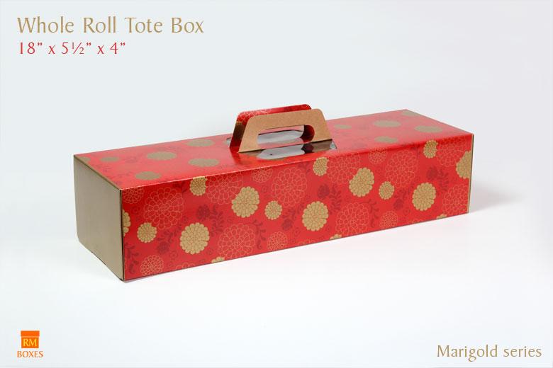 Whole Roll Tote - Marigold
